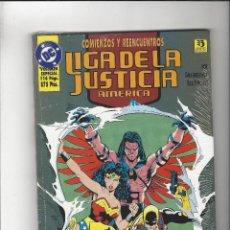 Cómics: LIGA DE LA JUSTICIA COMIENZOS Y REENCUENTROS ED. ZINCO - PRECINTADO !!. Lote 205882028