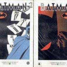 Cómics: BATMAN N,1,2,3, GRANDES HEROES DEL COMIC 2003 BIBLIOTECA EL MUNDO. Lote 206213991