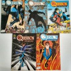 Comics : QUESTION N°. 1 A 5.. Lote 206250157