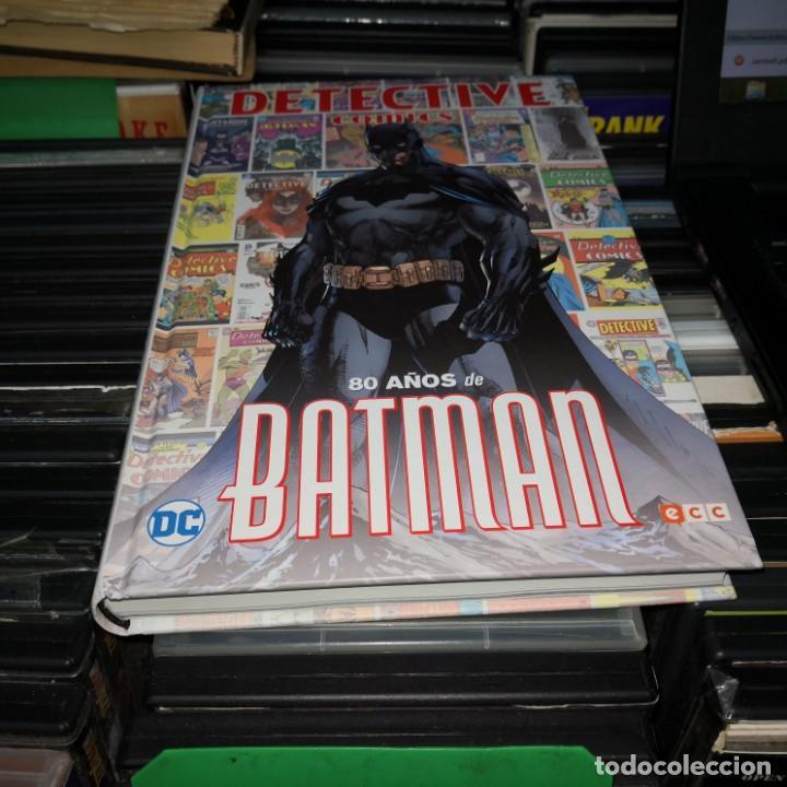DETECTIVE COMICS : 80 AÑOS DE BATMAN - ECC / DC / (Tebeos y Comics - Zinco - Batman)