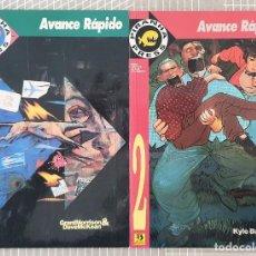 Cómics: AVANCE RAPIDO. COLECCIÓN COMPLETA DE 2 TOMOS. EDICIONES ZINCO 1993. Lote 206302315