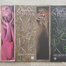 Cómics: ORQUIDEA NEGRA DE NEIL GAIMAN & DAVE MCKEAN. C.COMPLETA DE 3 TOMOS. ZINCO 1990. Lote 206309780