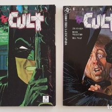 Cómics: LOTE BATMAN THE CULT COLECCION COMPLETA 4 EJEMPLARES -DC ZINCO - ESTADO EXCELENTE. Lote 206342711