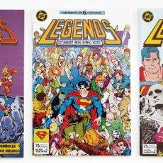 Comics: LEGENDS - MINISERIE DE 6 NÚMEROS - COMPLETA - ZINCO - EXCELENTE ESTADO - 1987. Lote 206370631