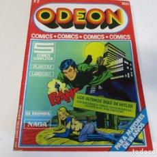 Cómics: COMIC ODEON Nº 2 LOS ULTIMOS DIAS DE HITLER. Lote 206428993