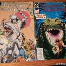 Cómics: DUNGEONS & DRAGONS - 12 NÚMEROS EN 2 TOMOS - EDITORIAL ZINCO -DRAGONES Y MAZMORRAS - D&D (VER FOTOS). Lote 206495836
