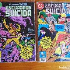 Cómics: ESCUADRON SUICIDA DC COMICS ZINCO VOLÚMENES 2 Y 3 INCLUYE LOS NÚMEROS 5 AL 12. Lote 206520048