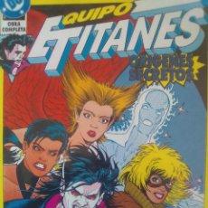 Cómics: EQUIPO DE TITANES OBRA COMPLETA - ORÍGENES SECRETOS / P2. Lote 206577847