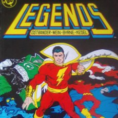 Cómics: LEGENDS 5-6-EXTRAS 1 Y 2 / P2. Lote 206578221