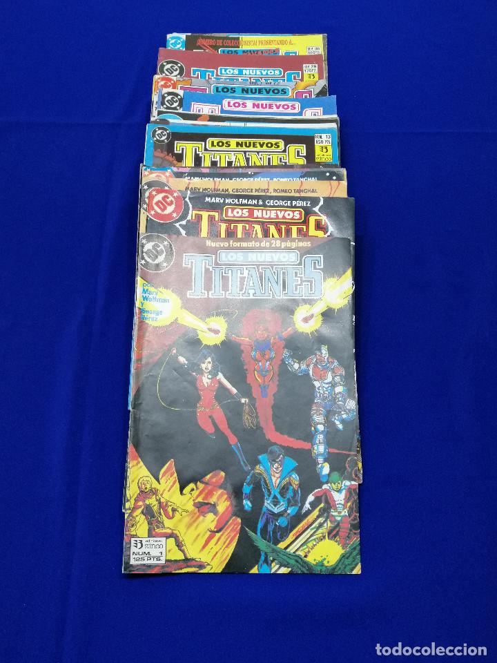 LOS NUEVOS TITANES- LOTE INCLUIDO Nº 36 NUMERO DE COLECCIONISTA (Tebeos y Comics - Zinco - Nuevos Titanes)