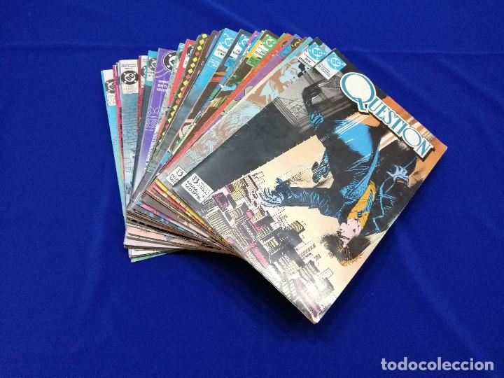 QUESTION LOTE DE COMICS- LOTE DE 34 COMICS (Tebeos y Comics - Zinco - Question)