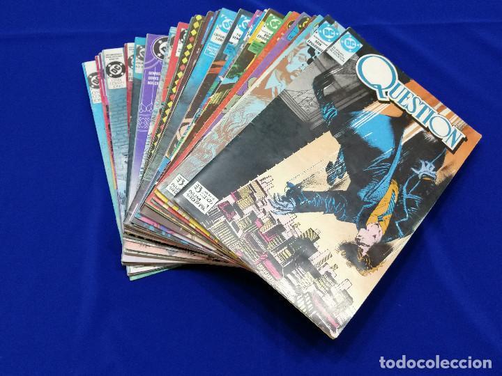 Cómics: QUESTION LOTE DE COMICS- LOTE DE 34 COMICS - Foto 2 - 206585300