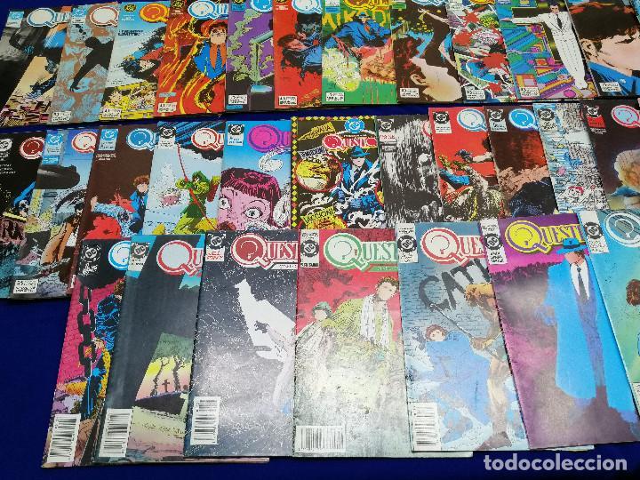 Cómics: QUESTION LOTE DE COMICS- LOTE DE 34 COMICS - Foto 3 - 206585300
