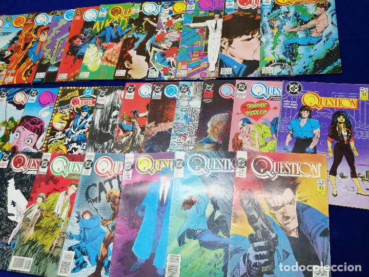 Cómics: QUESTION LOTE DE COMICS- LOTE DE 34 COMICS - Foto 4 - 206585300
