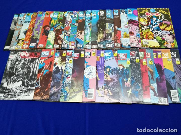 Cómics: QUESTION LOTE DE COMICS- LOTE DE 34 COMICS - Foto 5 - 206585300
