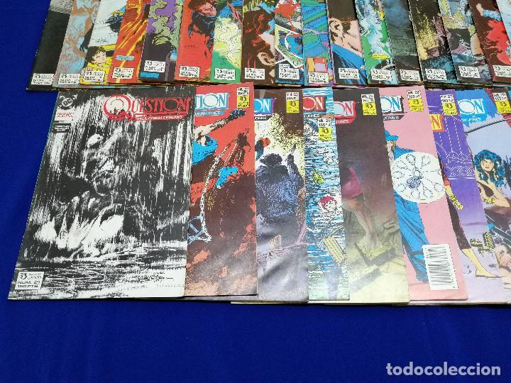 Cómics: QUESTION LOTE DE COMICS- LOTE DE 34 COMICS - Foto 7 - 206585300