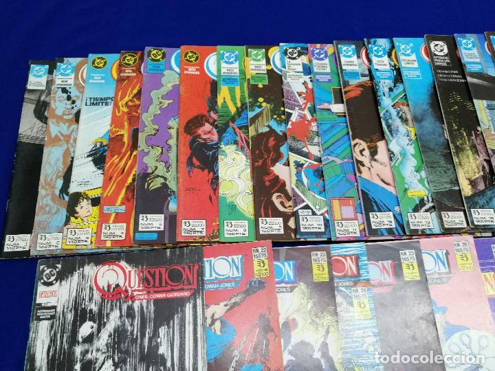Cómics: QUESTION LOTE DE COMICS- LOTE DE 34 COMICS - Foto 8 - 206585300