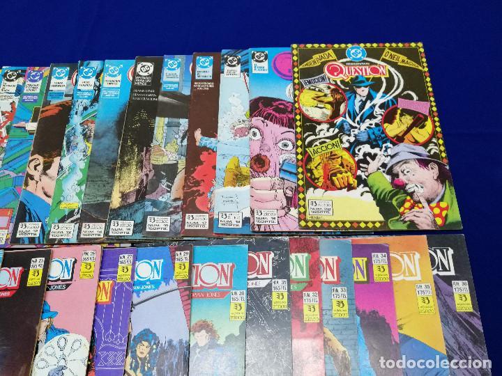 Cómics: QUESTION LOTE DE COMICS- LOTE DE 34 COMICS - Foto 9 - 206585300