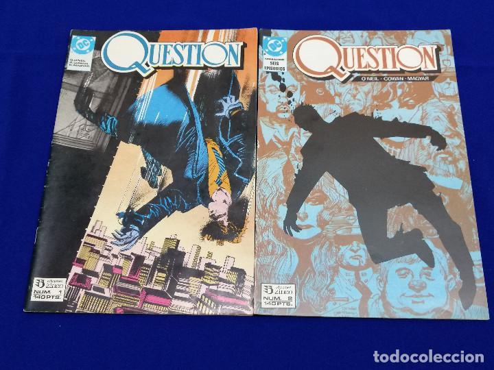 Cómics: QUESTION LOTE DE COMICS- LOTE DE 34 COMICS - Foto 10 - 206585300