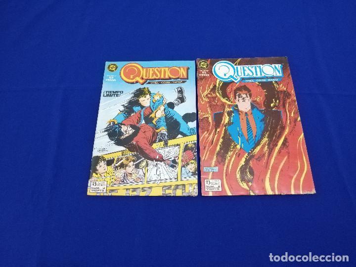 Cómics: QUESTION LOTE DE COMICS- LOTE DE 34 COMICS - Foto 13 - 206585300