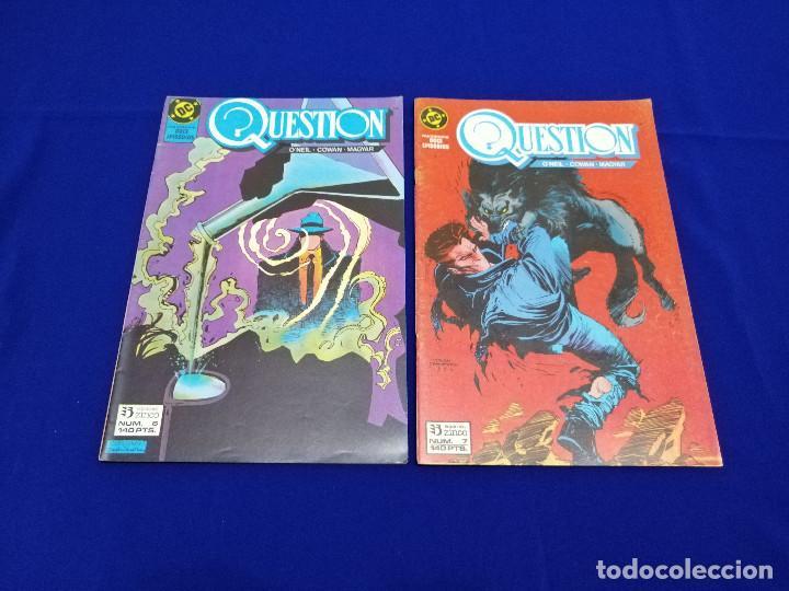 Cómics: QUESTION LOTE DE COMICS- LOTE DE 34 COMICS - Foto 19 - 206585300