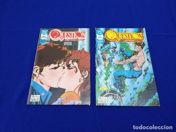 Cómics: QUESTION LOTE DE COMICS- LOTE DE 34 COMICS - Foto 28 - 206585300