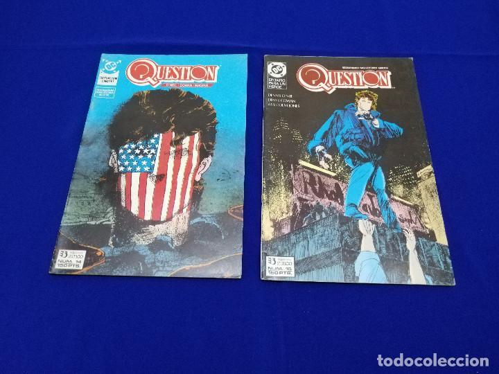 Cómics: QUESTION LOTE DE COMICS- LOTE DE 34 COMICS - Foto 32 - 206585300