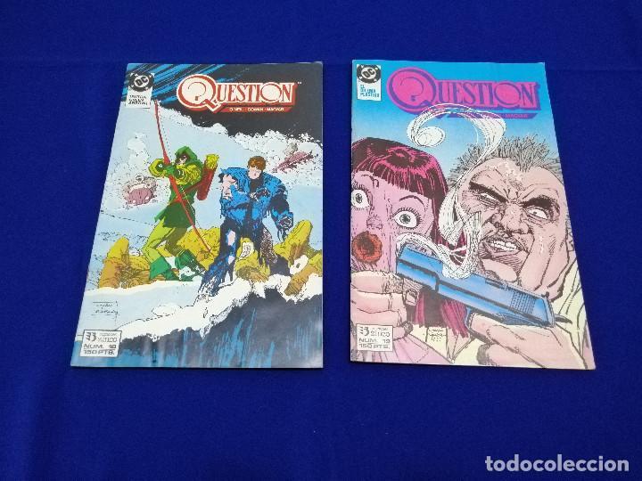Cómics: QUESTION LOTE DE COMICS- LOTE DE 34 COMICS - Foto 39 - 206585300