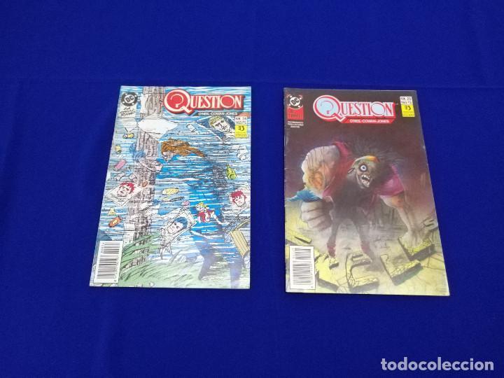 Cómics: QUESTION LOTE DE COMICS- LOTE DE 34 COMICS - Foto 49 - 206585300