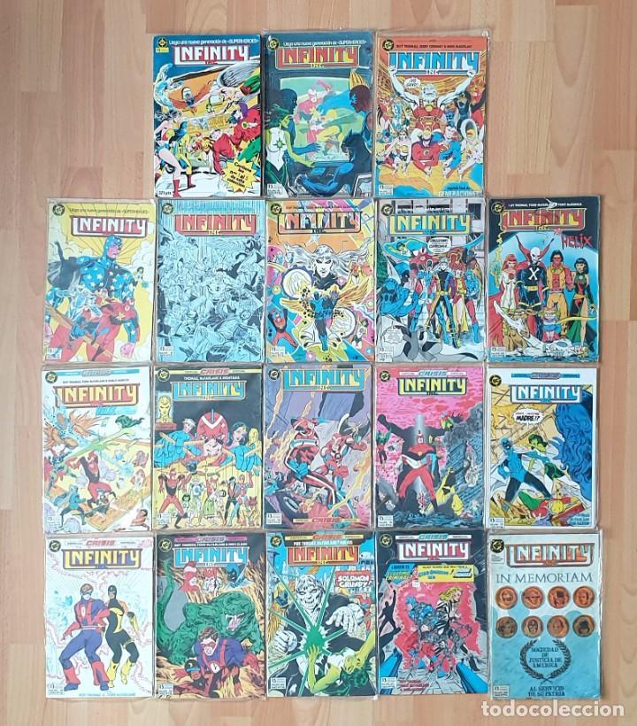 INFINITY INC. COLECCIÓN COMPLETA. EDICIONES ZINCO 1986 (Tebeos y Comics - Zinco - Infinity Inc)