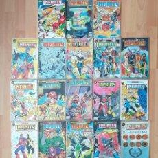 Comics: INFINITY INC. COLECCIÓN COMPLETA. EDICIONES ZINCO 1986. Lote 206878562