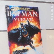 Cómics: BATMAN VUELVE ADAPTACION OFICIAL DE LA PELICULA DC - ZINCO - OCASION. Lote 206885306