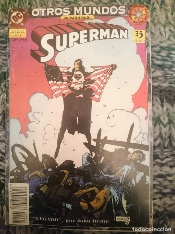 SUPERMAN EDITORIAL DC NUMERO 1 ZINCO (Tebeos y Comics - Zinco - Superman)