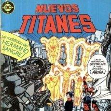 Cómics: NUEVOS TITANES-DC-ZINCO- Nº 36 -BAUTISMO DE SANGRE-1987-GRAN GEORGE PEREZ-CORRECTO-LEA-3480. Lote 206936113