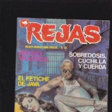 Cómics: REJAS - Nº 38 - DROGA Y VIOLENCIA - COMIC EROTICO PARA ADULTOS - ZINCO S.A -. Lote 207035590