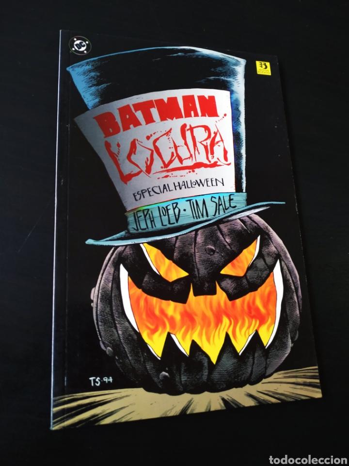 EXCELENTE ESTADO BATMAN LOCURA ESPECIAL HALLOWEEN DC COMICS ZINCO (Tebeos y Comics - Zinco - Batman)