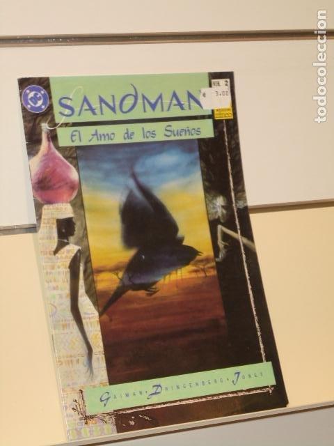 SANDMAN Nº 2 EL AMO DE LOS SUEÑOS NEIL GAIMAN - ZINCO (Tebeos y Comics - Zinco - Otros)