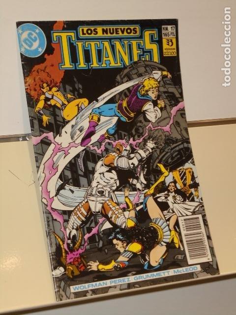 LOS NUEVOS TITANES Nº 17 - ZINCO (Tebeos y Comics - Zinco - Otros)