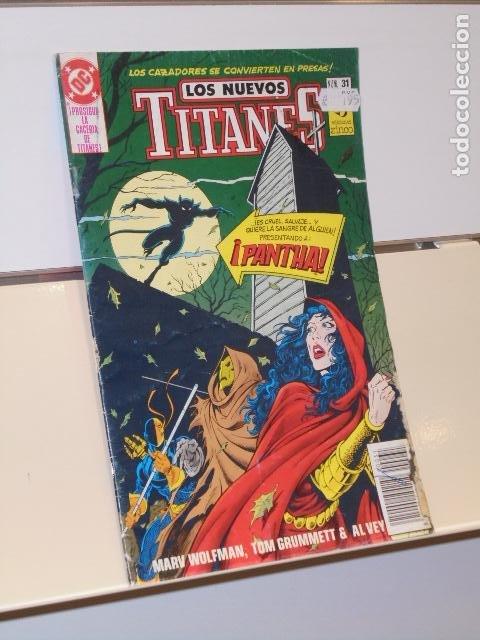 LOS NUEVOS TITANES Nº 31 - ZINCO (Tebeos y Comics - Zinco - Otros)