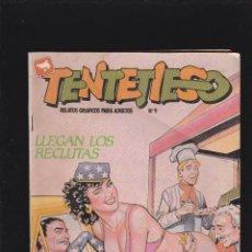 Cómics: TENTETIESO - Nº 9 DE 24 - LLEGAN LOS RECLUTAS - COMIC EROTICO PARA ADULTOS - ZINCO, S. A -. Lote 207133927