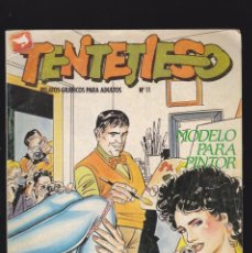 Cómics: TENTETIESO - Nº 11 DE 24 - MODELO PARA PINTOR - COMIC EROTICO PARA ADULTOS - ZINCO, S. A -. Lote 207134337