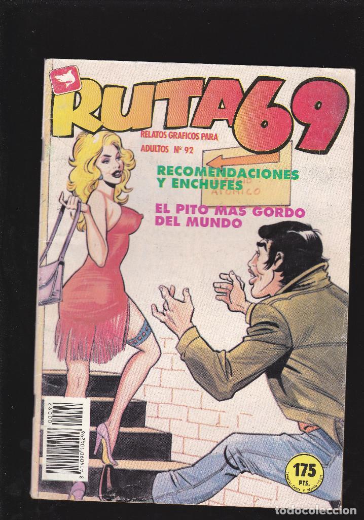 RUTA 69 - Nº 92 DE 112 - RECOMENDACIONES Y ENCHUFES - COMIC EROTICO PARA ADULTOS - ZINCO, S. A - (Tebeos y Comics - Zinco - Otros)