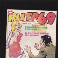 Cómics: RUTA 69 - Nº 92 DE 112 - RECOMENDACIONES Y ENCHUFES - COMIC EROTICO PARA ADULTOS - ZINCO, S. A -. Lote 207134837