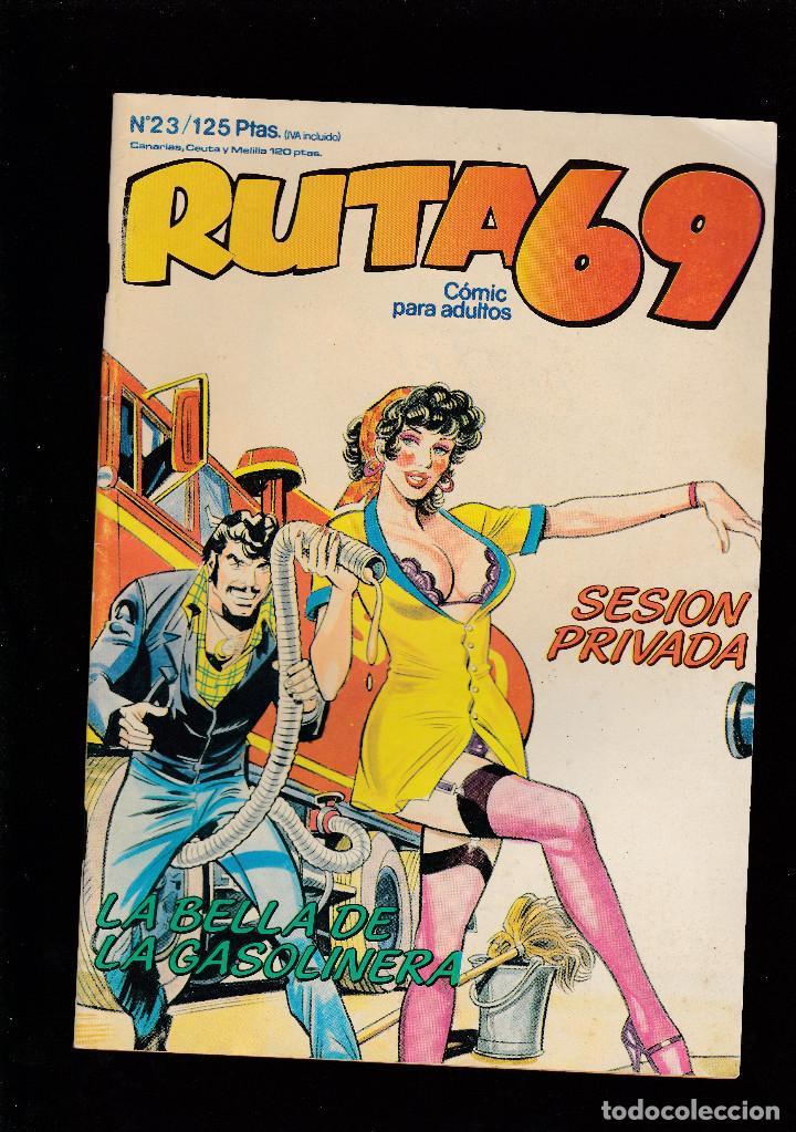 RUTA 69 - Nº 23 DE 112 - SESIÓN PRIVADA - COMIC EROTICO PARA ADULTOS - ZINCO, S. A - (Tebeos y Comics - Zinco - Otros)