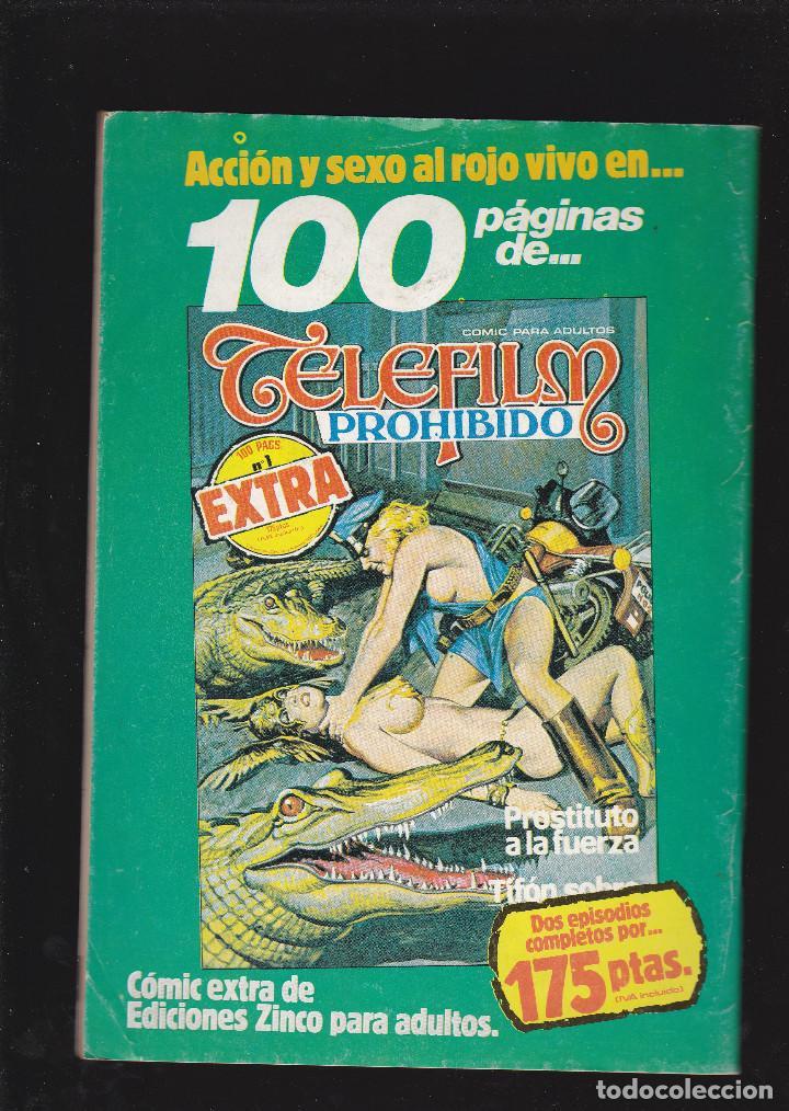 Cómics: RUTA 69 - Nº 23 DE 112 - SESIÓN PRIVADA - COMIC EROTICO PARA ADULTOS - ZINCO, S. A - - Foto 2 - 207135106