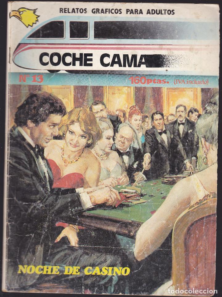 COCHE CAMA - Nº 13 DE 18 - NOCHE DE CASINO - COMIC EROTICO PARA ADULTOS - ASTRI S. A - (Tebeos y Comics - Zinco - Otros)