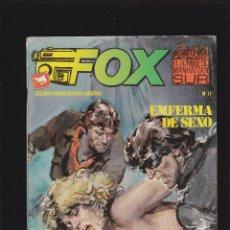 Cómics: FOX - Nº 11 DE 14 - LOS ADORADORES DE LAS TINIEBLAS - COMIC EROTICO PARA ADULTOS - ZINCO S. A -. Lote 207140313