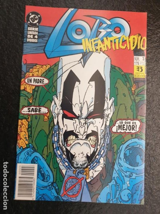 LOBO INFANTICIDIO 3 DE 4. DC - ZINCO (Tebeos y Comics - Zinco - Lobo)