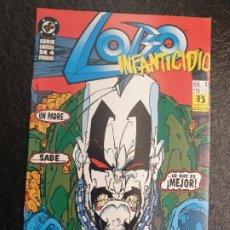 Cómics: LOBO INFANTICIDIO 3 DE 4. DC - ZINCO. Lote 207149640