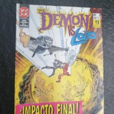 Cómics: THE DEMON VS. LOBO ¡IMAPCTO FINAL! 4 DE 4. DC - ZINCO. Lote 207149676